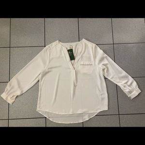 H&M blouse in white